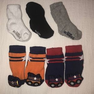 Other - Robeez and Rattle Socks 🧦 🚂 🚒